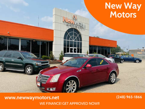 2008 Cadillac CTS for sale at New Way Motors in Ferndale MI