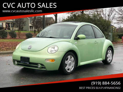 2001 Volkswagen New Beetle for sale at CVC AUTO SALES in Durham NC
