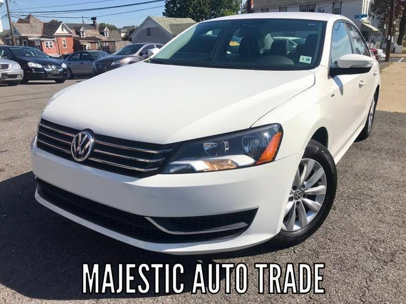 2015 Volkswagen Passat for sale at Majestic Auto Trade in Easton PA