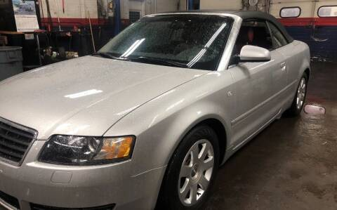 2004 Audi A4 for sale at Story Brothers Auto in New Britain CT