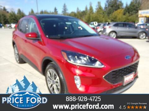 2021 Ford Escape Hybrid for sale at Price Ford Lincoln in Port Angeles WA