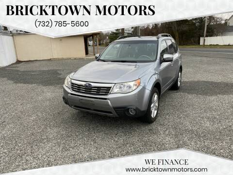 2009 Subaru Forester for sale at Bricktown Motors in Brick NJ