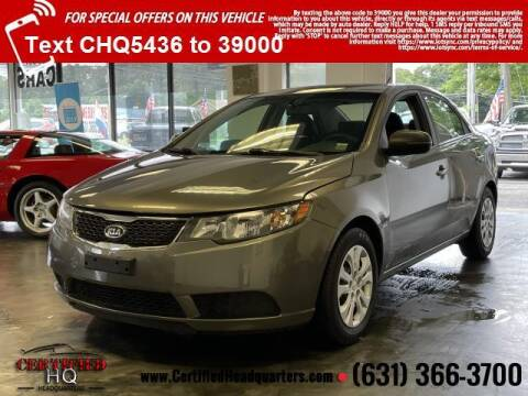 2012 Kia Forte for sale at CERTIFIED HEADQUARTERS in Saint James NY