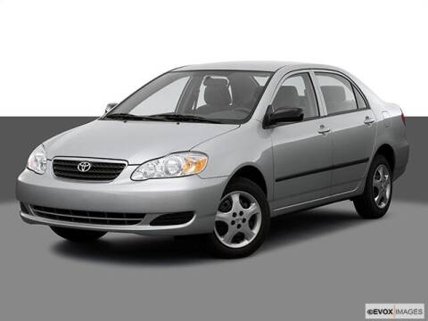 2007 Toyota Corolla for sale at BORGMAN OF HOLLAND LLC in Holland MI