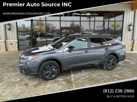2020 Subaru Outback for sale at Premier Auto Source INC in Terre Haute IN