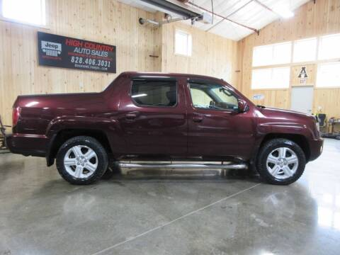 2010 Honda Ridgeline for sale at Boone NC Jeeps-High Country Auto Sales in Boone NC