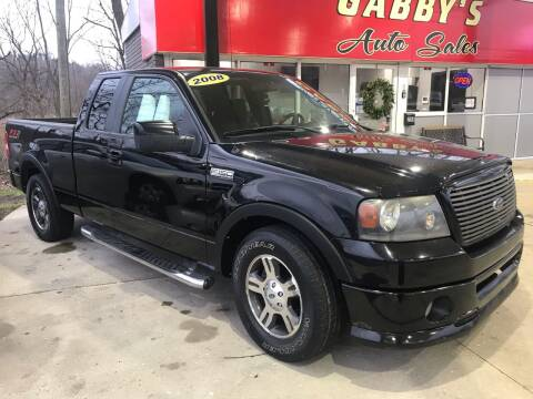 2008 Ford F-150 for sale at GABBY'S AUTO SALES in Valparaiso IN