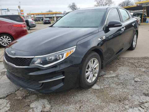 2017 Kia Optima for sale at Nile Auto in Fort Worth TX