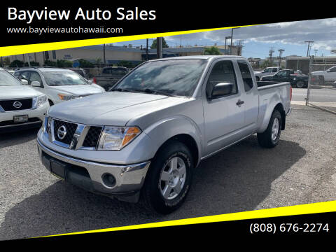 2007 Nissan Frontier for sale at Bayview Auto Sales in Waipahu HI