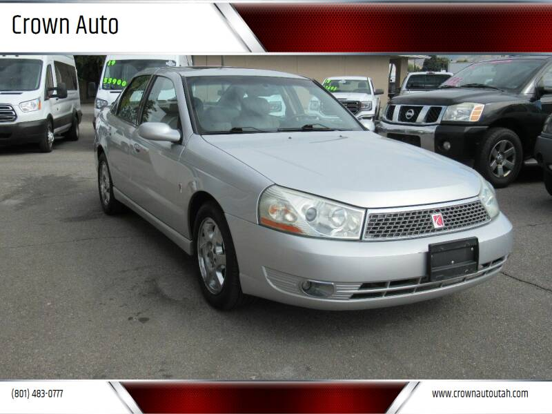 2004 Saturn L300 for sale at Crown Auto in South Salt Lake City UT