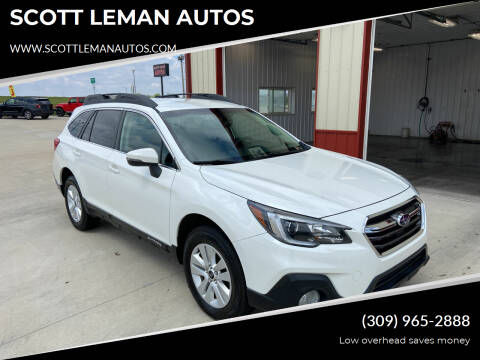 2018 Subaru Outback for sale at SCOTT LEMAN AUTOS in Goodfield IL