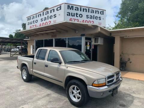 2003 Dodge Dakota for sale at Mainland Auto Sales Inc in Daytona Beach FL
