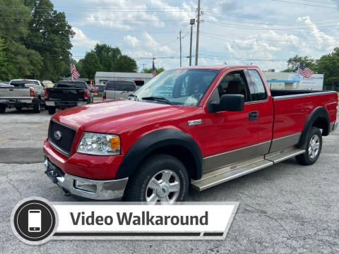 2004 Ford F-150 for sale at NJ Enterprises in Indianapolis IN