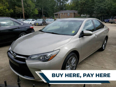 2016 Toyota Camry for sale at TR Motors in Opelika AL