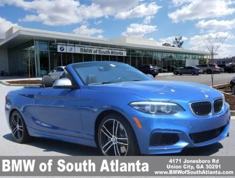 2018 BMW 2 Series for sale at Carol Benner @ BMW of South Atlanta in Union City GA