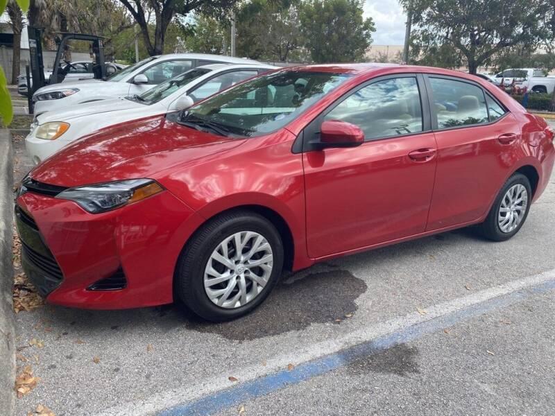 2017 Toyota Corolla for sale at DORAL HYUNDAI in Doral FL