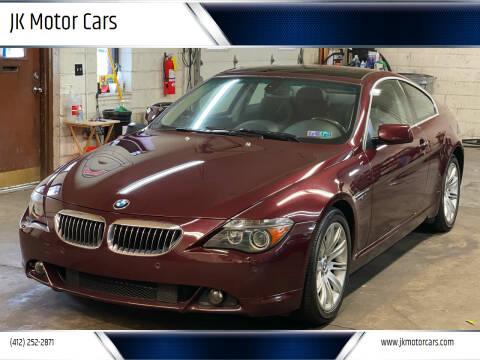2007 BMW 6 Series for sale at JK Motor Cars in Pittsburgh PA