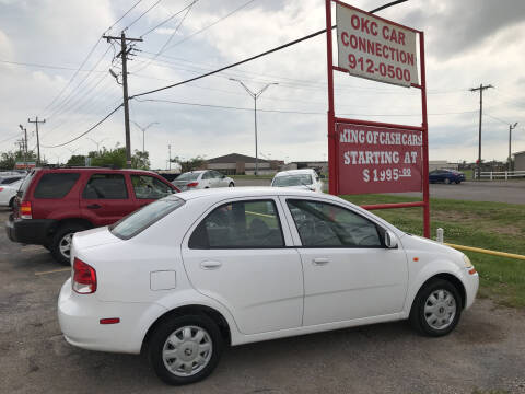 2004 Chevrolet Aveo for sale at OKC CAR CONNECTION in Oklahoma City OK