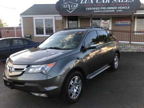 2008 Acura MDX for sale at Lux Car Sales in South Easton MA