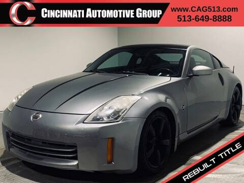 2006 Nissan 350Z for sale at Cincinnati Automotive Group in Lebanon OH