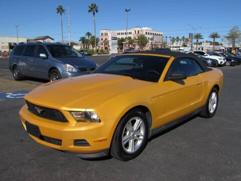 2012 Ford Mustang for sale at Charlie Cheap Car in Las Vegas NV
