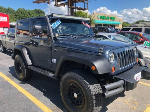 2008 Jeep Wrangler for sale at Affordable Autos at the Lake in Denver NC