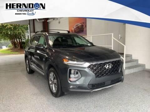 2020 Hyundai Santa Fe for sale at Herndon Chevrolet in Lexington SC
