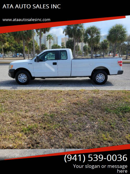 2010 Ford F-150 for sale at ATA   AUTO SALES INC in Sarasota FL