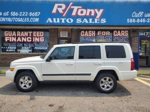 2008 Jeep Commander for sale at R Tony Auto Sales in Clinton Township MI