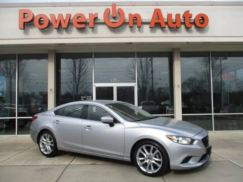 2017 Mazda MAZDA6 for sale at Power On Auto LLC in Monroe NC