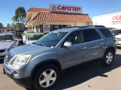 2008 GMC Acadia for sale at CARSTER in Huntington Beach CA