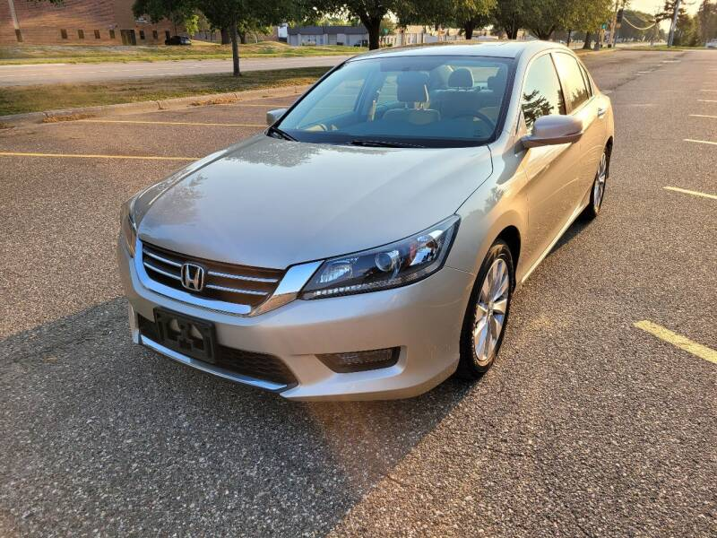 2015 Honda Accord for sale at Prime Time Auto LLC in Shakopee MN