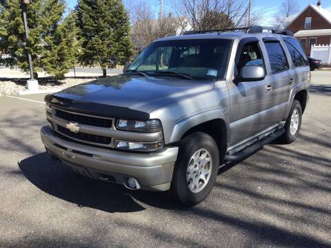 2002 Chevrolet Tahoe for sale at Bromax Auto Sales in South River NJ