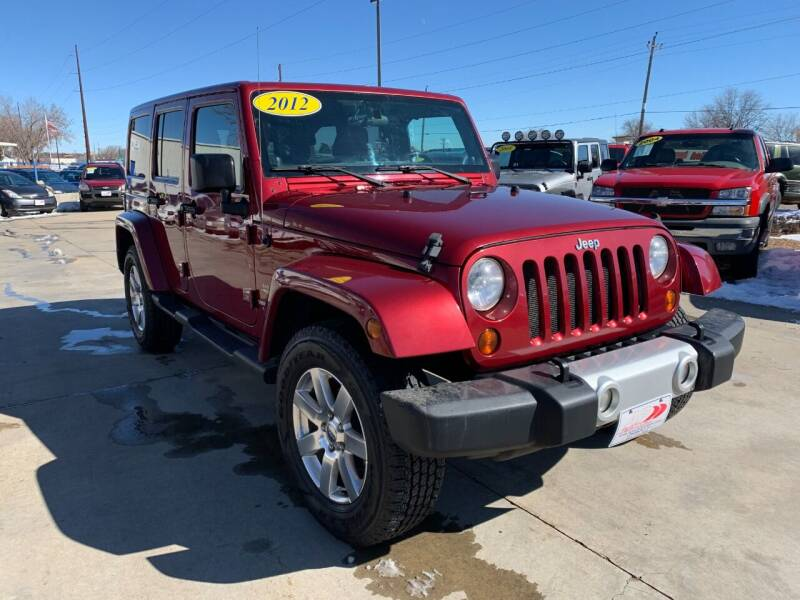 2012 Jeep Wrangler Unlimited for sale at AP Auto Brokers in Longmont CO