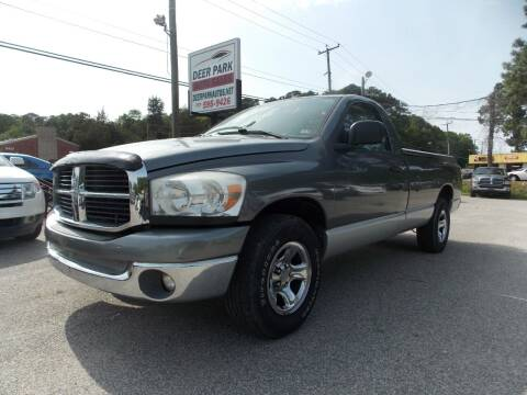 2007 Dodge Ram Pickup 1500 for sale at Deer Park Auto Sales Corp in Newport News VA