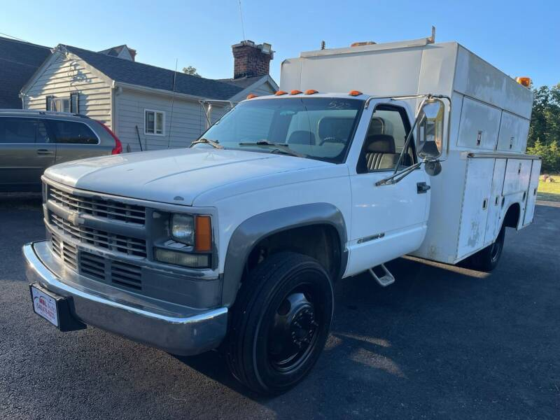 2002 Chevrolet Silverado 3500 for sale at MBL Auto Woodford in Woodford VA