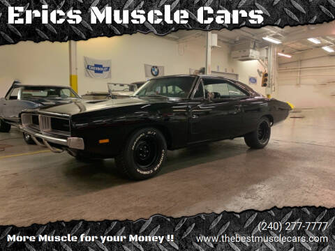 1969 Dodge Charger for sale at Erics Muscle Cars in Clarksburg MD