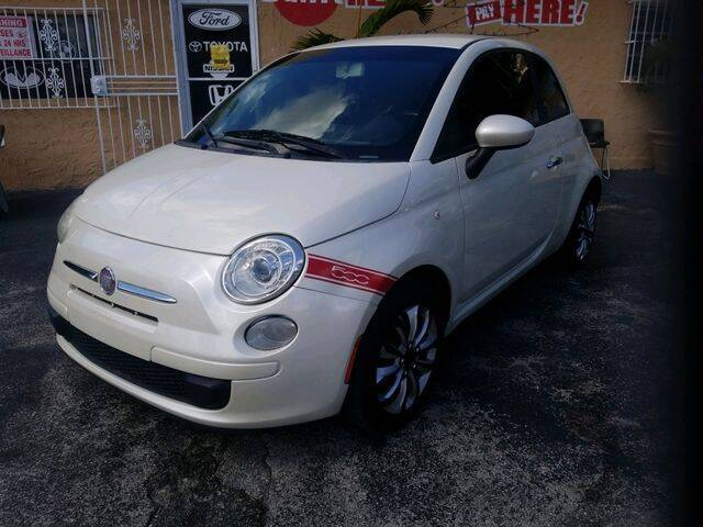 2012 FIAT 500 for sale at VALDO AUTO SALES in Miami FL