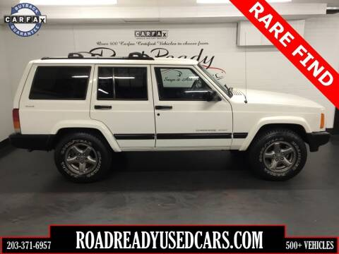 2001 Jeep Cherokee for sale at Road Ready Used Cars in Ansonia CT