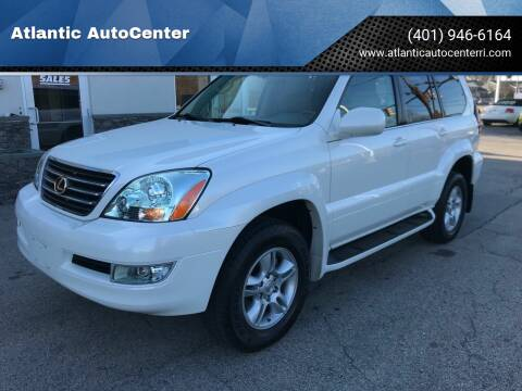 2004 Lexus GX 470 for sale at Atlantic AutoCenter in Cranston RI