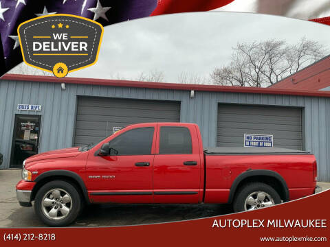 2004 Dodge Ram Pickup 1500 for sale at Autoplex 2 in Milwaukee WI