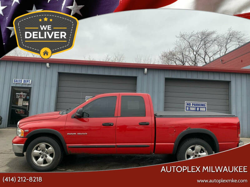 2004 Dodge Ram Pickup 1500 for sale at Autoplex Milwaukee in Milwaukee WI