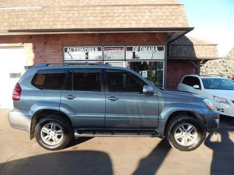 2003 Lexus GX 470 for sale at AUTOWORKS OF OMAHA INC in Omaha NE