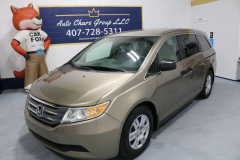 2012 Honda Odyssey for sale at Auto Chars Group LLC in Orlando FL