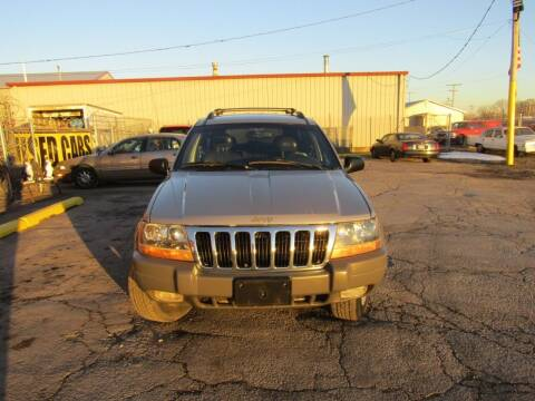 2001 Jeep Grand Cherokee for sale at X Way Auto Sales Inc in Gary IN