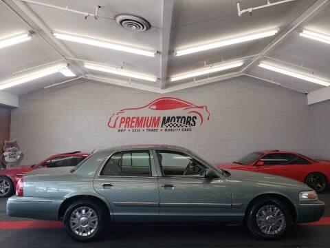 2006 Mercury Grand Marquis for sale at Premium Motors in Villa Park IL