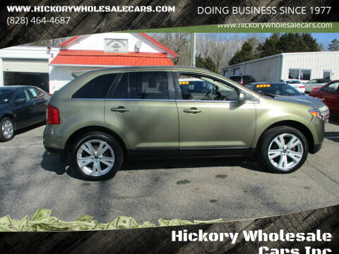 2013 Ford Edge for sale at Hickory Wholesale Cars Inc in Newton NC