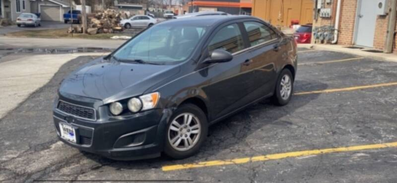 2015 Chevrolet Sonic for sale at VICTORY LANE AUTO in Raymore MO