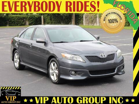 2011 Toyota Camry for sale at VIP Auto Group in Clearwater FL