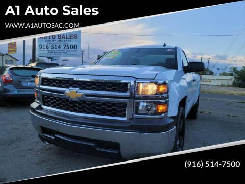 2014 Chevrolet Silverado 1500 for sale at A1 Auto Sales in Sacramento CA